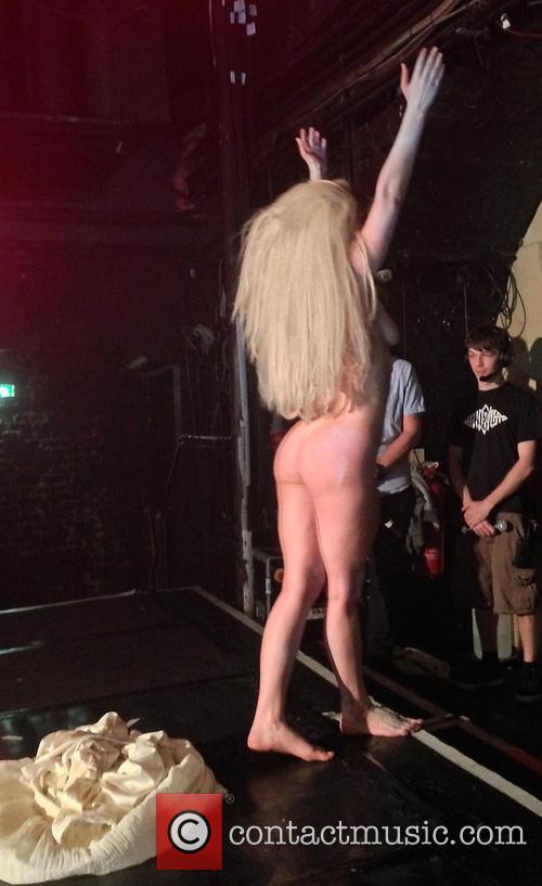 Lady Gaga performing at G-A-Y