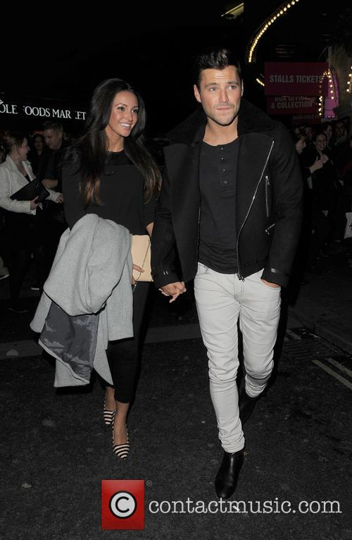 Michelle Keegan and Mark Wright 9