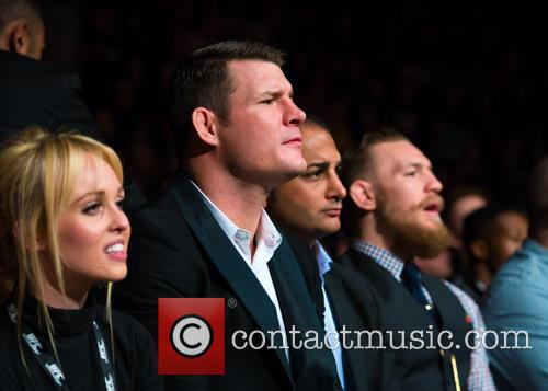 Michael Bisping and Jorgie Porter
