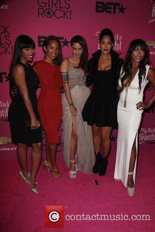 Jill Marie Jones, Mara Brock Akil, Persia White, Tracee Ellis Ross, Golden Brooks