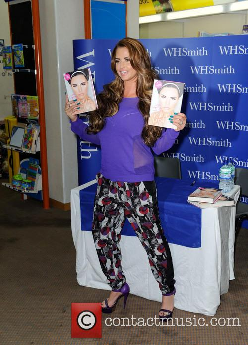 Katie Price, WHSMITH
