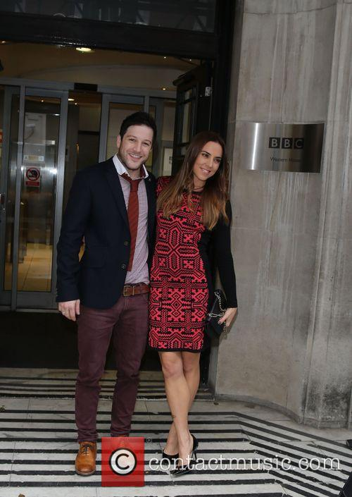 Melanie Chisholm, Mel C and Matt Cardle 8