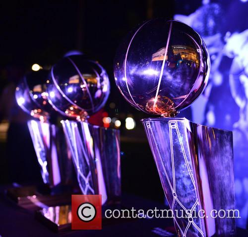 View Of The Nba Miami Heat(2006 and 2013) Winning Trophy 5