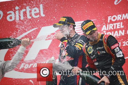 Formula One, Sebastian Vettel and Romain Grosjean 2