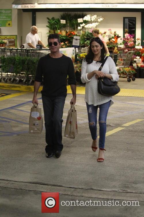 Simon Cowell and Lauren Silverman 15