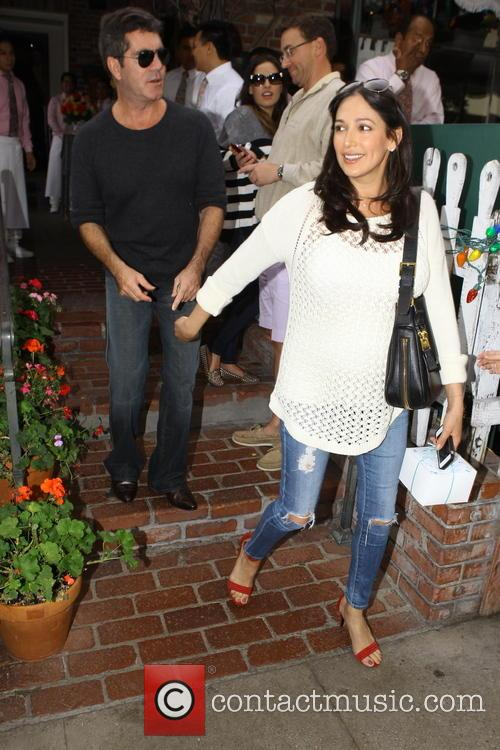Simon Cowell and Lauren Silverman 3