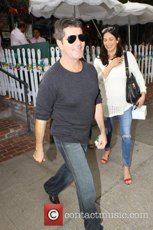 Simon Cowell and Lauren Silverman 12