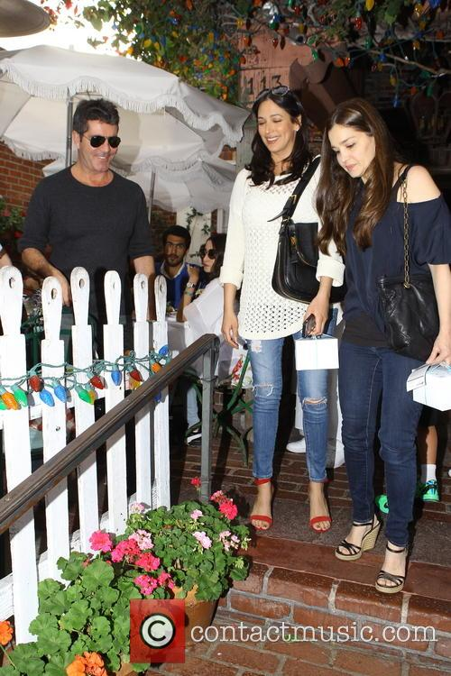 Simon Cowell and Lauren Silverman 13