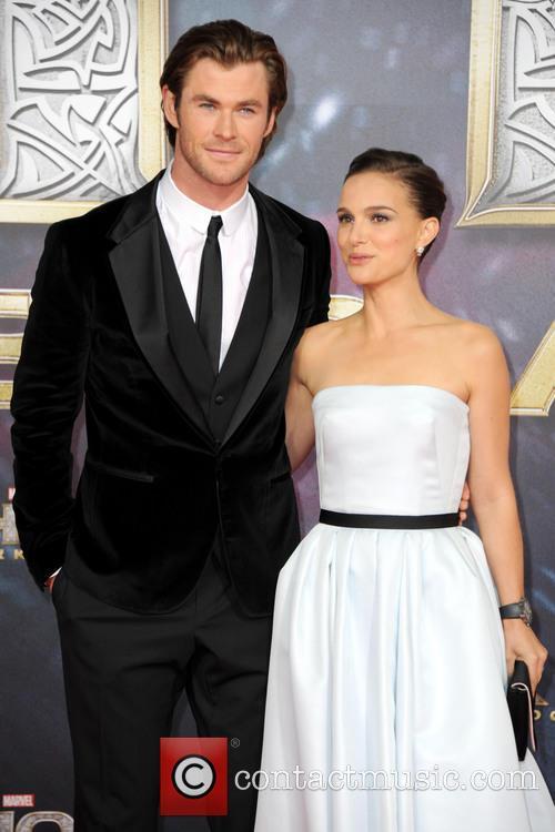 Natalie Portman Chris Hemsworth