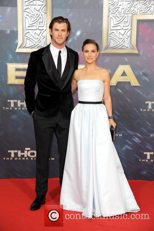 Chris Hemsworth, Natalie Portman, Sony Center