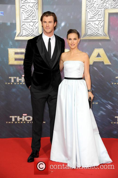 Chris Hemsworth, Natalie Portman, Sony Center