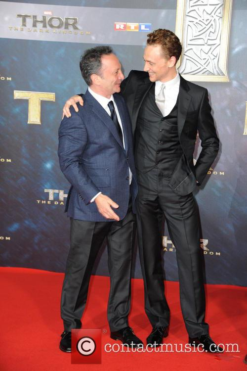 Louis D Esposito and Tom Hiddleston 3