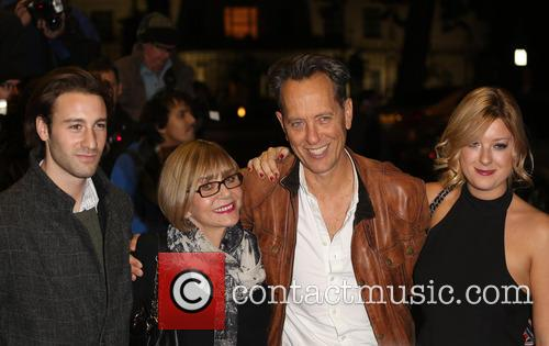 Tom Washington, Joan Washington, Richard E. Grant and Olivia Grant