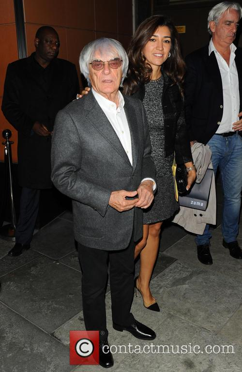 Bernie Ecclestone and Fabiana Flosi 2