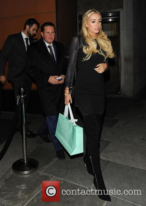 Petra Ecclestone and James Stunt 2