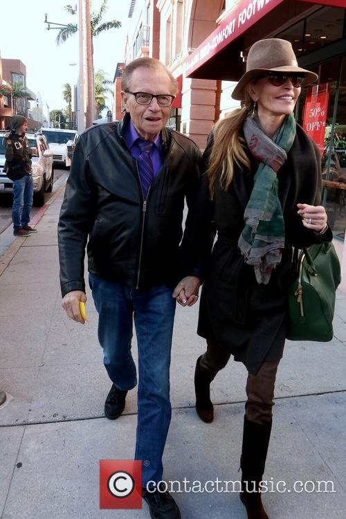 Larry King and Shawn King 4