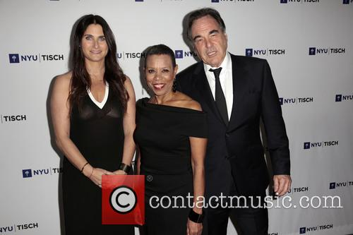 Liza Chasin, Mary Schmidt Campbell and Oliver Stone 3