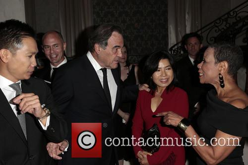 Oliver Stone, Sun-jung Jung and Mary Schmidt Campbell 6