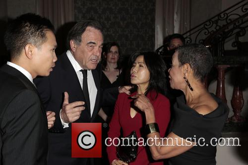 Oliver Stone, Sun-jung Jung and Mary Schmidt Campbell 8