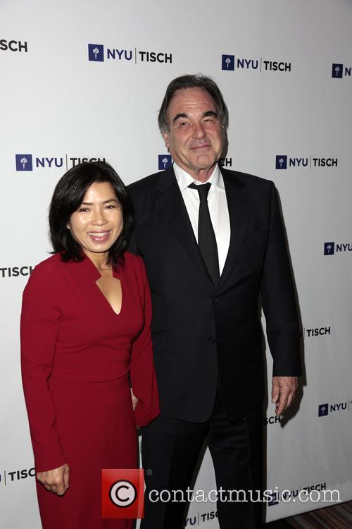 Sun-jung Jung and Oliver Stone 2