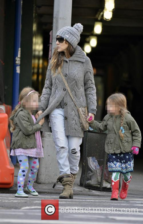 Sarah Jessica Parker, Marion Broderick and Tabitha Broderick 8