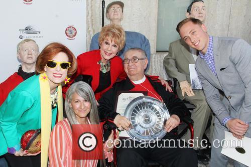 Kat Kramer, Lisa Hackett, Karen Sharpe Kramer, Marvin Kaplan and Tate Forman 1