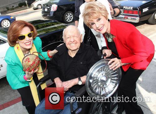 Kat Kramer, Mickey Rooney and Karen Sharpe Kramer 2