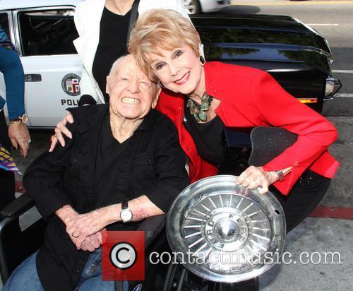 Mickey Rooney and Karen Sharpe Kramer 1