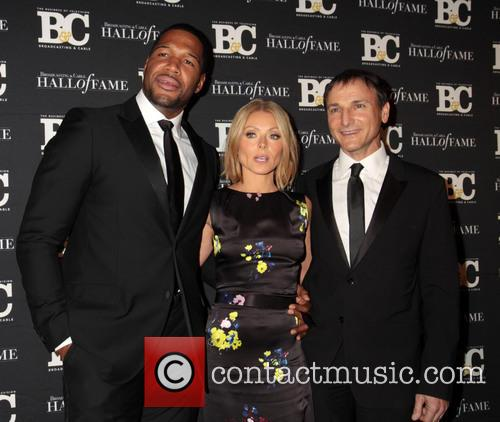 Michael Strahan, Kelly Ripa and Michael Gelman 2