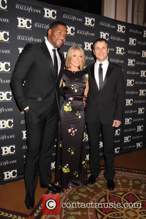 Michael Strahan, Kelly Ripa and Michael Gelman 1
