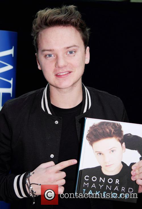 Conor Maynard meets fans and signs copies of...