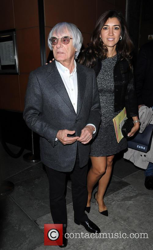 Bernie Ecclestone and Fabiana Flosi 3