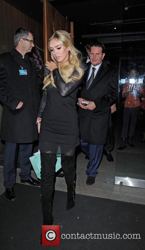 Bernie Ecclestone and Fabiana Flosi 11
