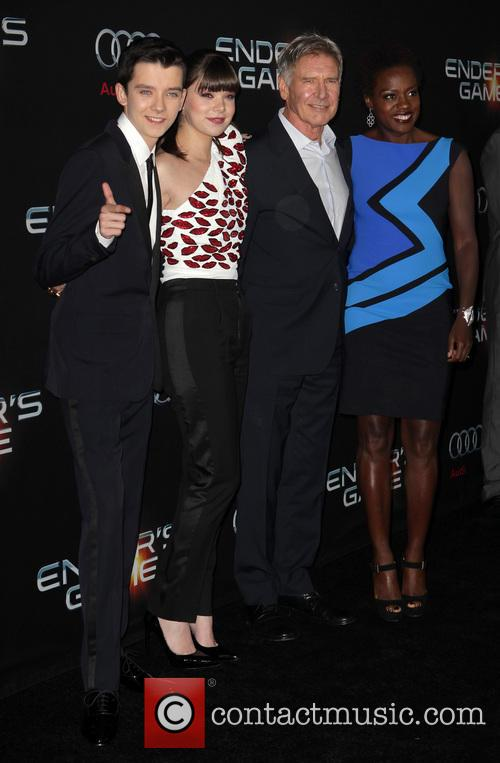 Asa Butterfield, Hailee Steinfeld, Harrison Ford and Viola Davis 7