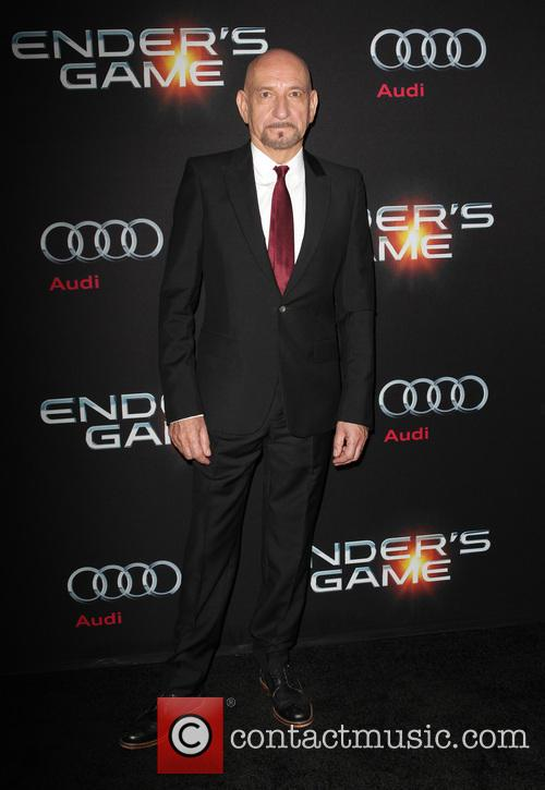 ben kingsley enders game los angeles 3927300