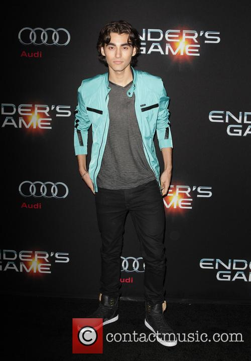 blake michael enders game los angeles 3927230