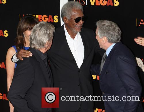 Michael Douglas, Morgan Freeman and Robert De Niro 2