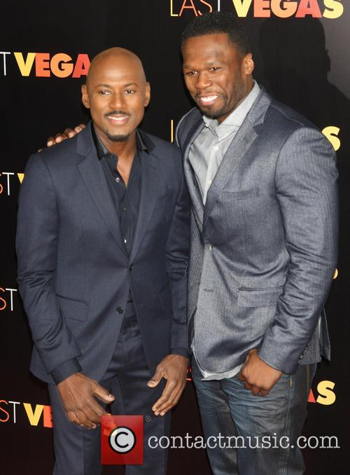 Romany Malco and 50 Cent 3