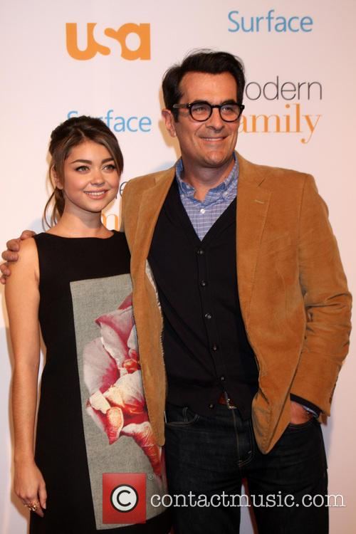 Sarah Hyland, Ty Burrell, Village Theater