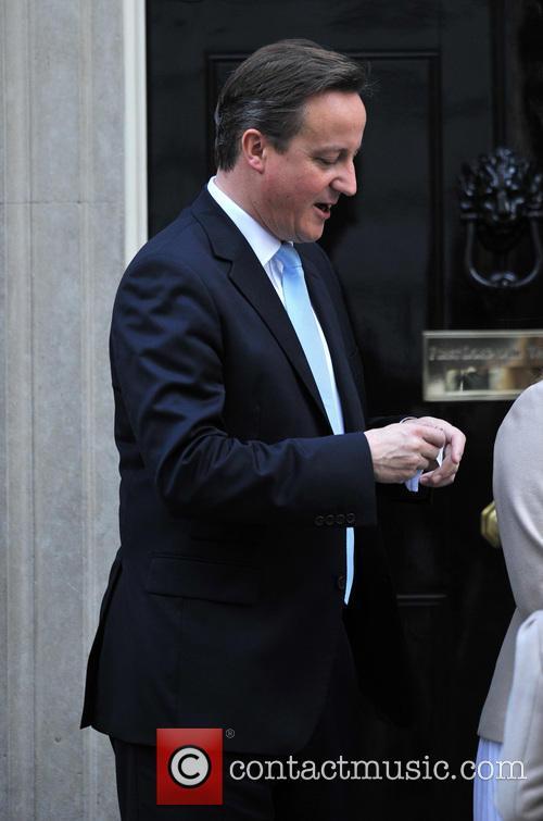 David Cameron buys poppy