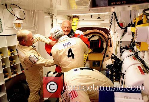 Fifteen Years Later: John Glenn's Shuttle Flight