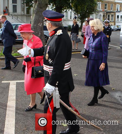 Queen Elizabeth Ii, Camilla and Duchess Of Cornwall 3