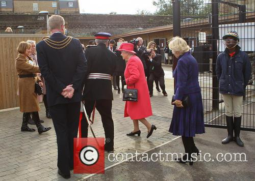Queen Elizabeth Ii, Camilla and Duchess Of Cornwall 8