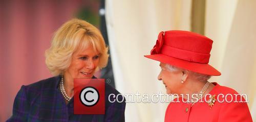 queen elizabeth ii camilla duchess of cornwall queen and 3927574
