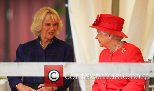 Queen Elizabeth II, Camilla and Duchess of Cornwall 1