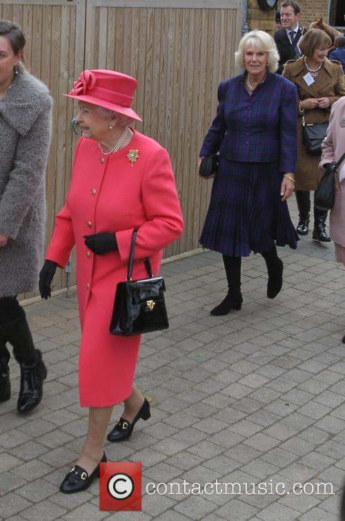 Queen Elizabeth Ii, Camilla and Duchess Of Cornwall 10