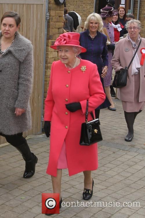 Queen Elizabeth II, Camilla and Duchess of Cornwall 5