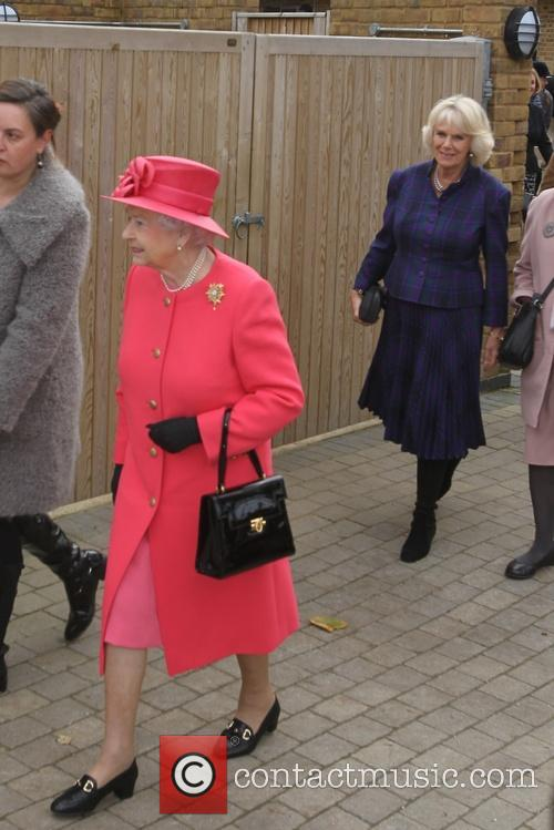 Queen Elizabeth II, Camilla and Duchess of Cornwall 6
