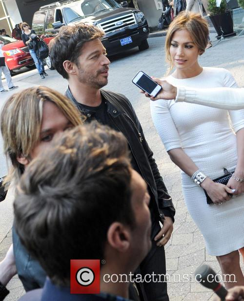 Harry Connick, Jr. and Jennifer Lopez 2