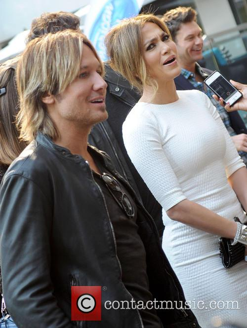 Jennifer Lopez and Keith Urban 2